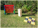 Giant garden games hire product