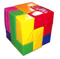 Soma puzzle cube team building games and icebreaker activity