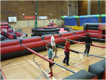 Sport activity days and ideas for sporting events for fun days, corporate events and team building