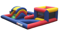 Inflatable playzone and ball pond