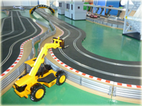 Slot car racing circuit hire