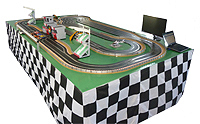 Scalextric racing game hire