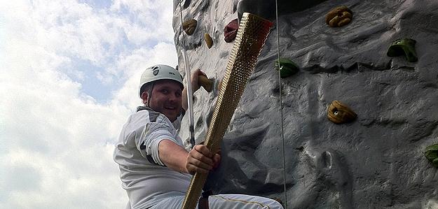Climbing Wall Olympics