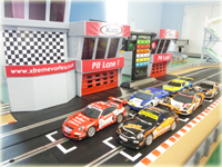Slot car Giant Scalextric racing car hire product