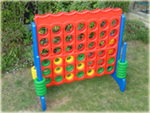 Giant Connect 4 Mega 4 in a Line garden game hire